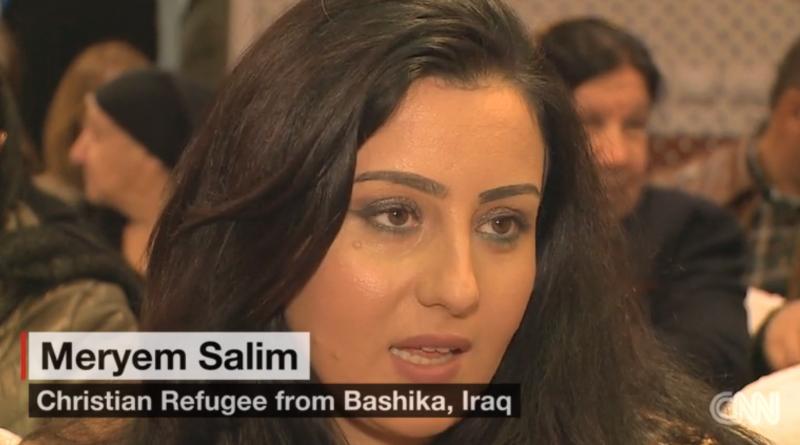 從巴什卡逃亡到土耳其的基督徒薩林姆。