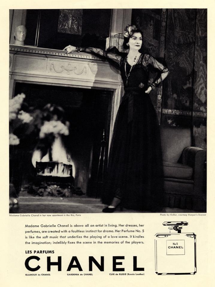 1921年,香奈兒五號(Chanel No.5)問世,自此改變女人身上的香氣。(取自CHANEL官方粉絲專頁)
