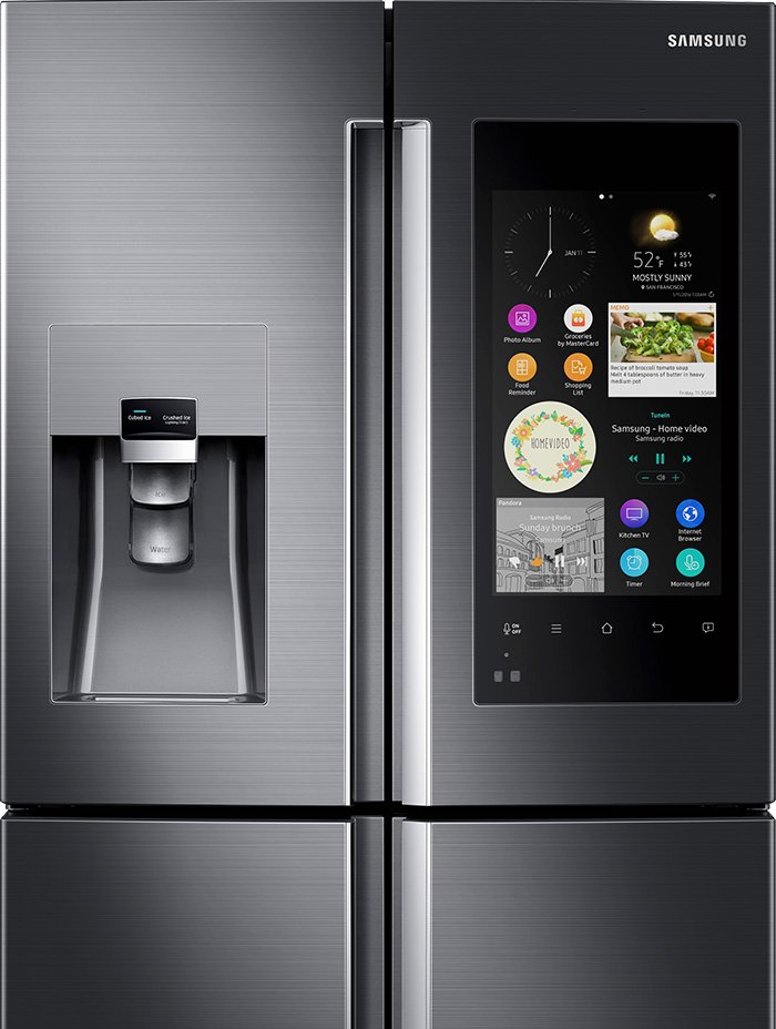 Samsung新冰箱Family Hub。(取自Samsung官網)
