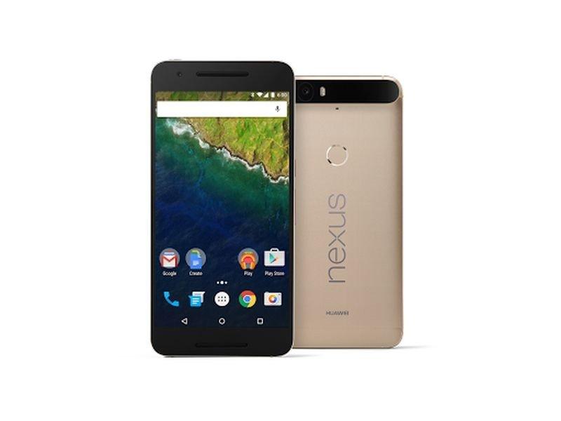 Google Nexus 6P黃金版。(取自Google官網)