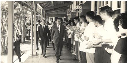 孫運璿先生在行政院長任內推行十大基礎建設,是台灣早期科技產業發展的重要推手。(圖/截自孫運璿科技.人文紀念館網站)