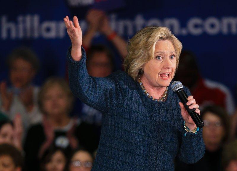 民主黨總統提名參選人希拉蕊(Hillary Clinton)(美聯社)
