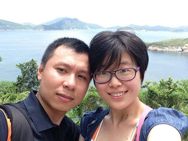 趙威與丈夫游明磊(取自網路)