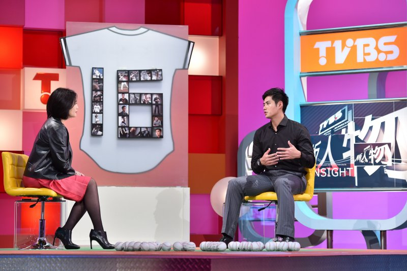 陳偉殷坦言,母親雖然很贊成自己打棒球,卻不希望自己旅外打球。(TVBS提供)