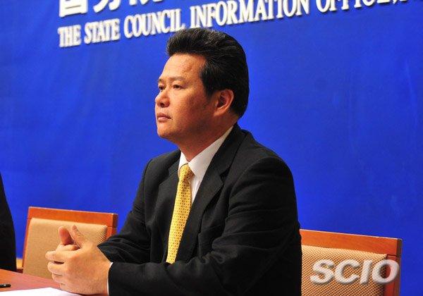國台辦副主任龔清概涉嫌「嚴重違紀」,目前正接受組織調查。(國務院新聞辦公室)