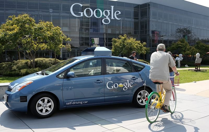 Google自駕車。 ( Justin Sullivan/Getty Images)
