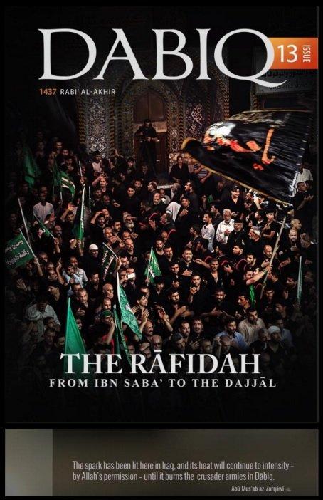 《達比格》是IS的線上宣傳工具,圖為《達比格》第13期的封面。