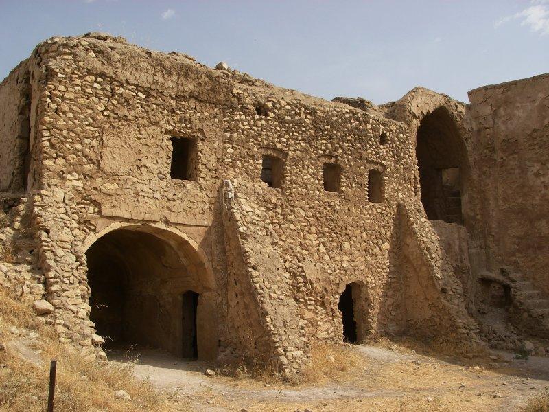 伊拉克摩蘇爾(Mosul)的聖以利亞修道院(Dair Mar Elia,St. Elijah's Monastery)(美聯社)