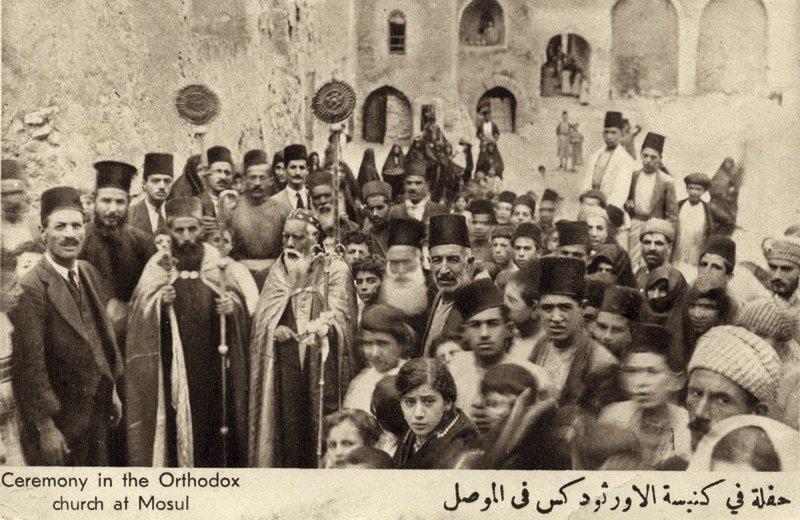 伊拉克的基督徒(美聯社)