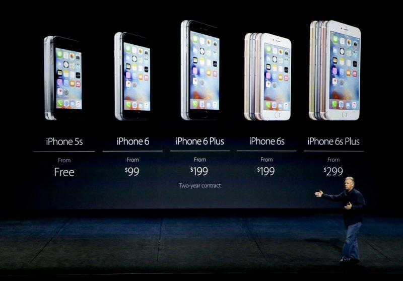 蘋果iPhone 6s 銷售不如預期,影響廣泛(美聯社)