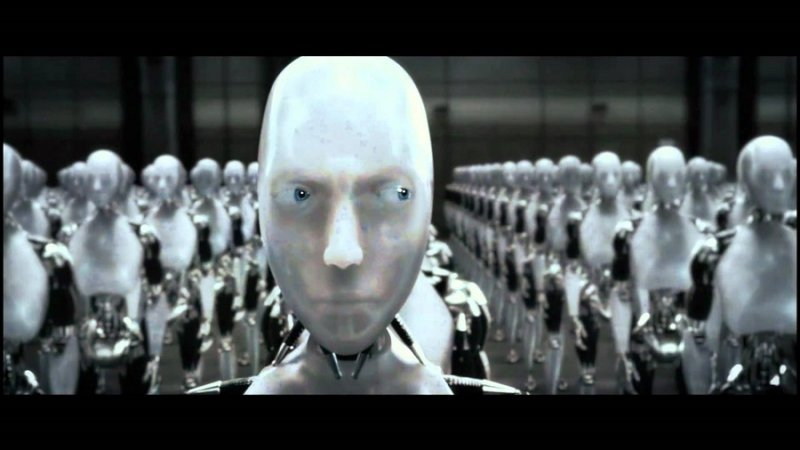 《機械公敵》(I, Robot)中的機械人索尼(YouTube)