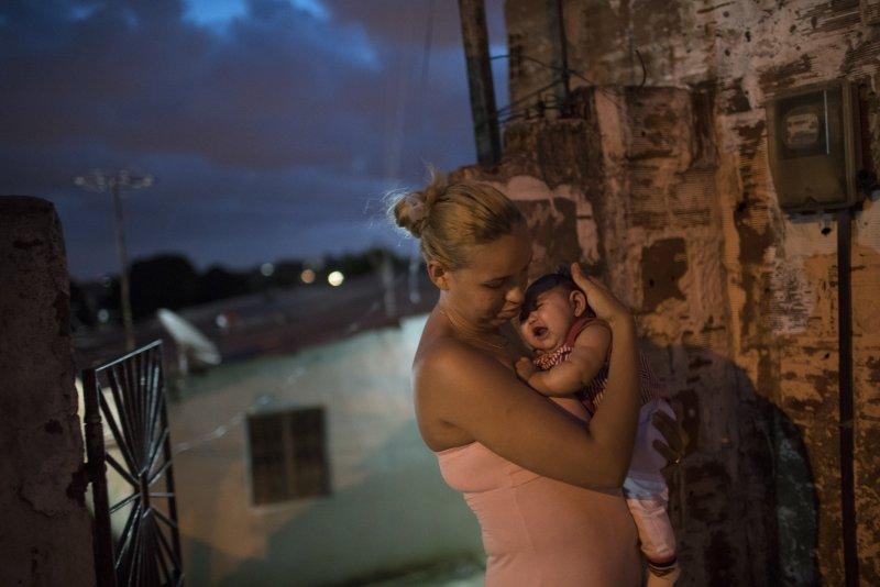 茲卡病毒可能引發胎兒小頭畸形症,巴西已出現許多受害兒童。(美聯社)
