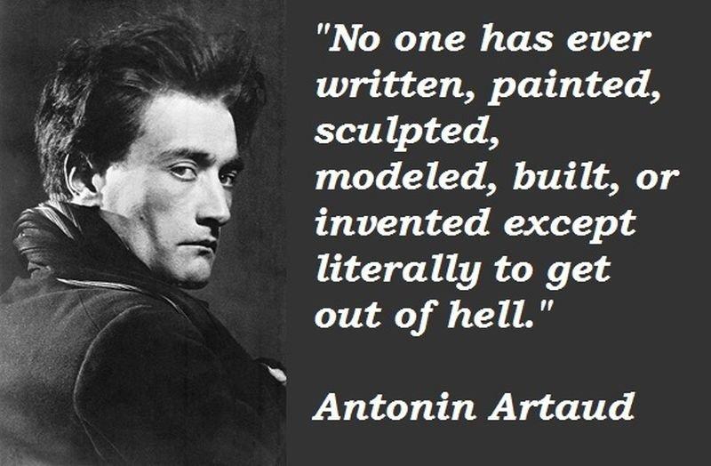 亞陶(亦譯:安托南·阿爾托,Antonin Artaud,1896~1948,法國詩人、演員和戲劇理論家,他提出「殘酷戲劇」的概念。