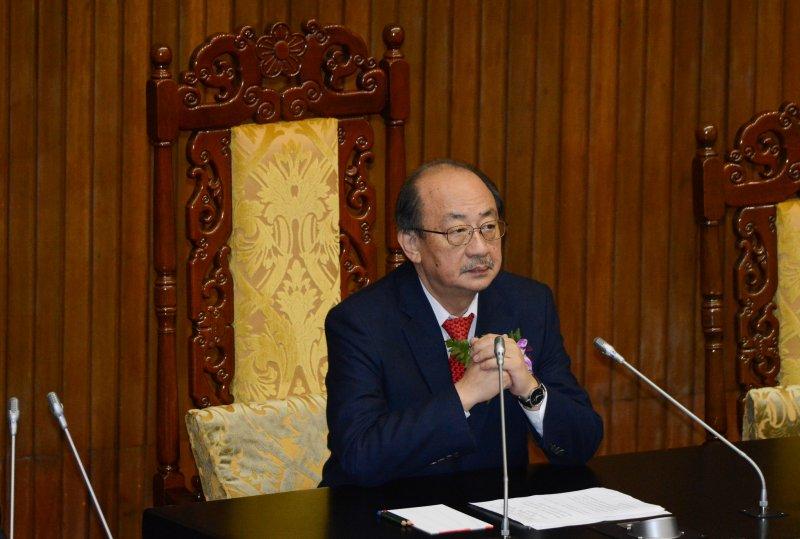 20160201-第九屆立院委員報到正副院長選舉.柯建銘(陳明仁攝)