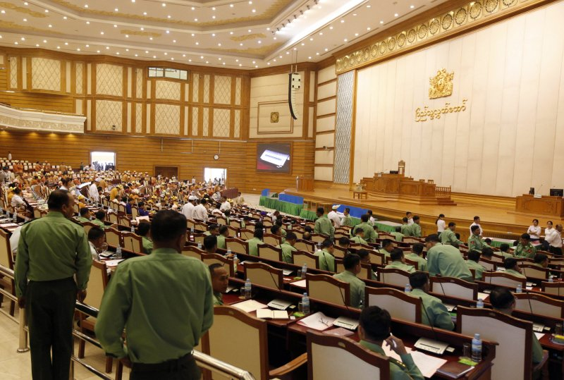 緬甸國會(美聯社)
