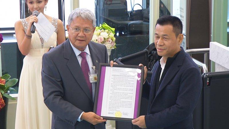 身為台灣的邦交國,帛琉相當重視本次直航。圖/帕勞百悅旅行社提供