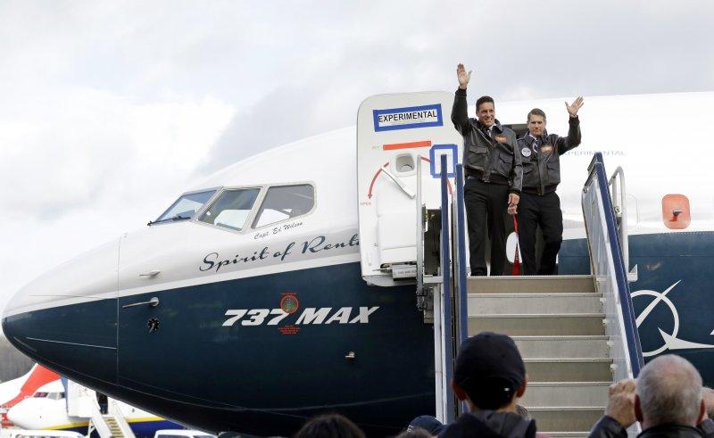 駕駛737MAX的機師。(美聯社)
