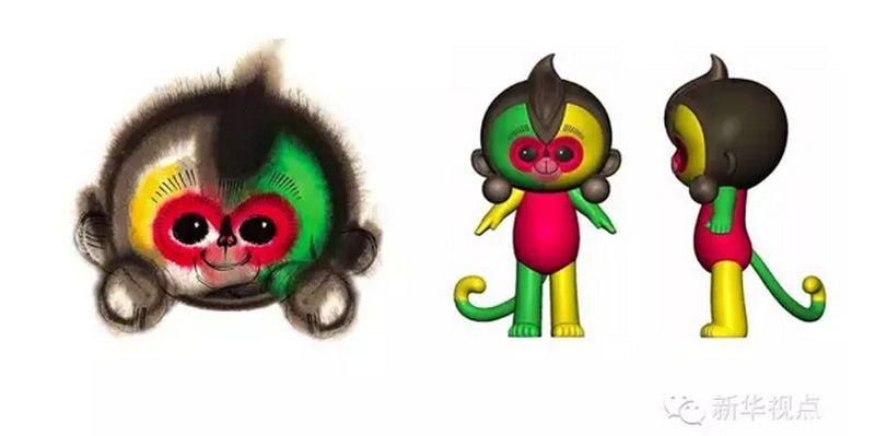 猴年春晚吉祥物,讓大陸網民齊呼:崩潰!(央視)