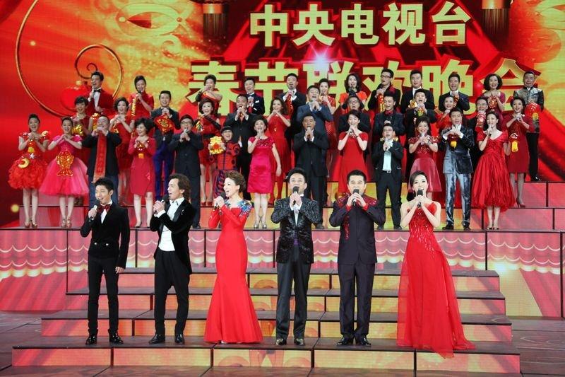 央視春晚直播是屢創華人圈收視新高,不過近年批評聲也漸高。(央視)