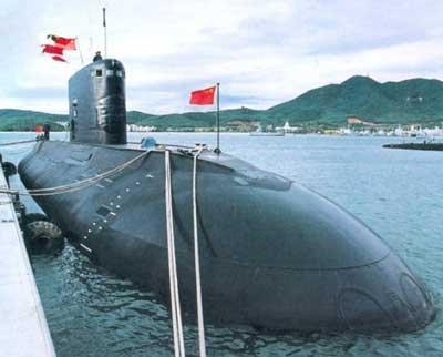 解放軍的636型基洛級潛艦。