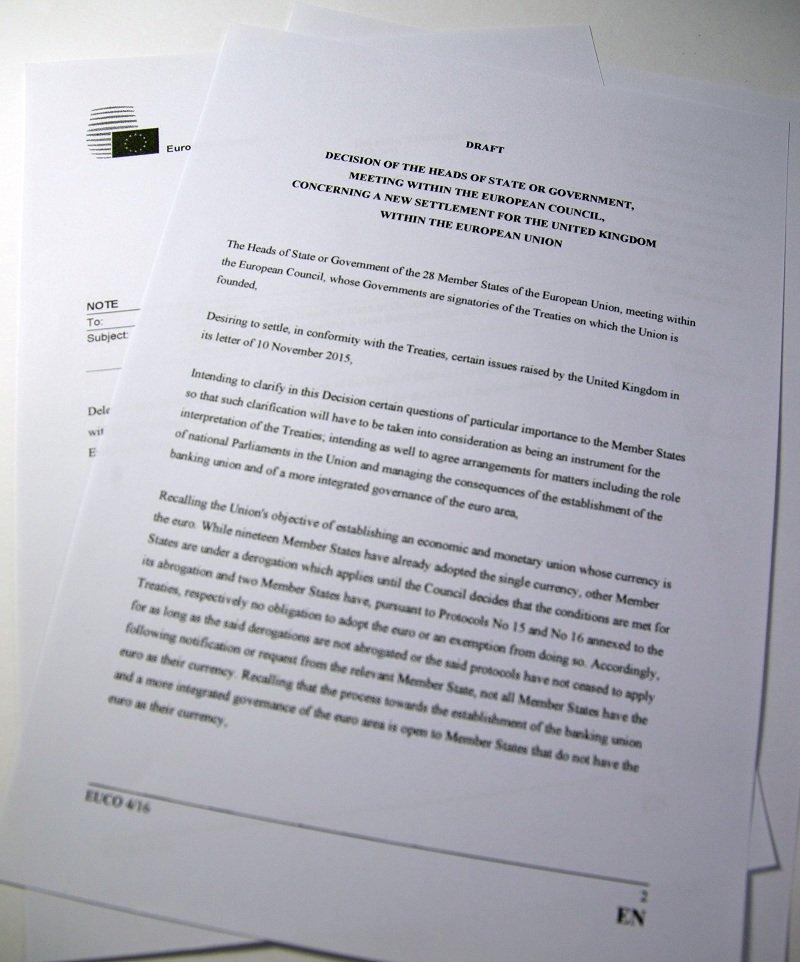 2016圖斯克提出的改革草案(美聯社)