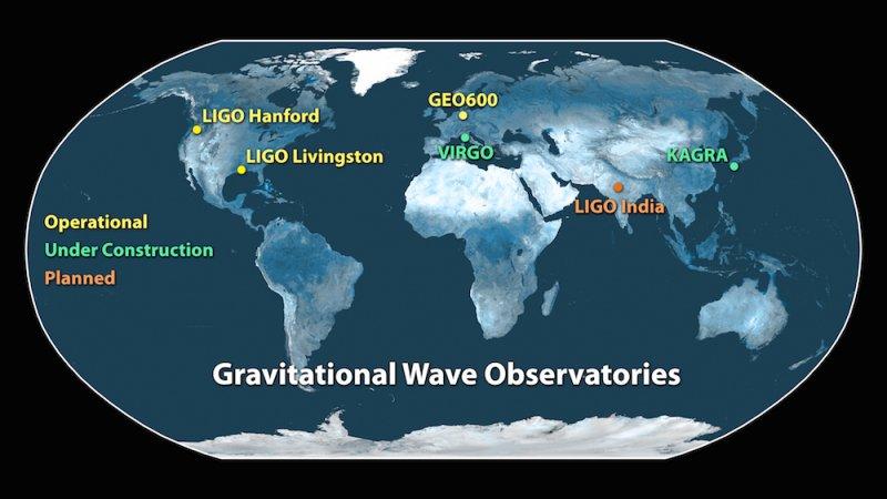 全球重力波探測機構(LIGO)