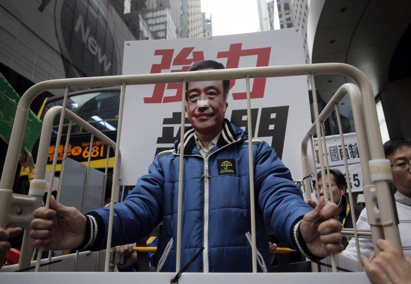 香港銅鑼灣書店失蹤5人至今下落未明。(美聯社)