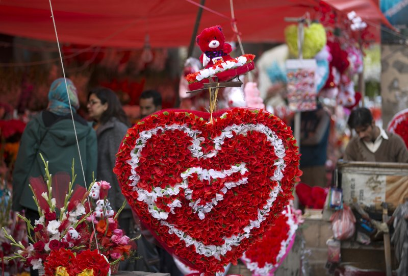 巴基斯坦的情人節(美聯社)