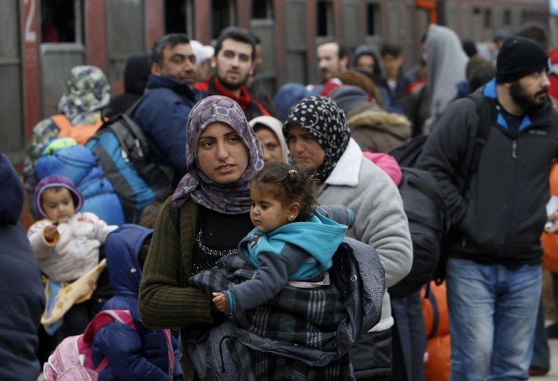 歐洲難民(美聯社)