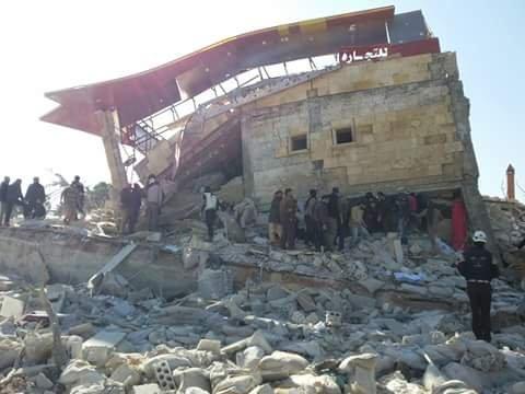 無國界醫生在敘利亞北部伊德利卜省(Idlib)的一家醫院於15日早上的一場空襲中遭到炸毀(MSF)