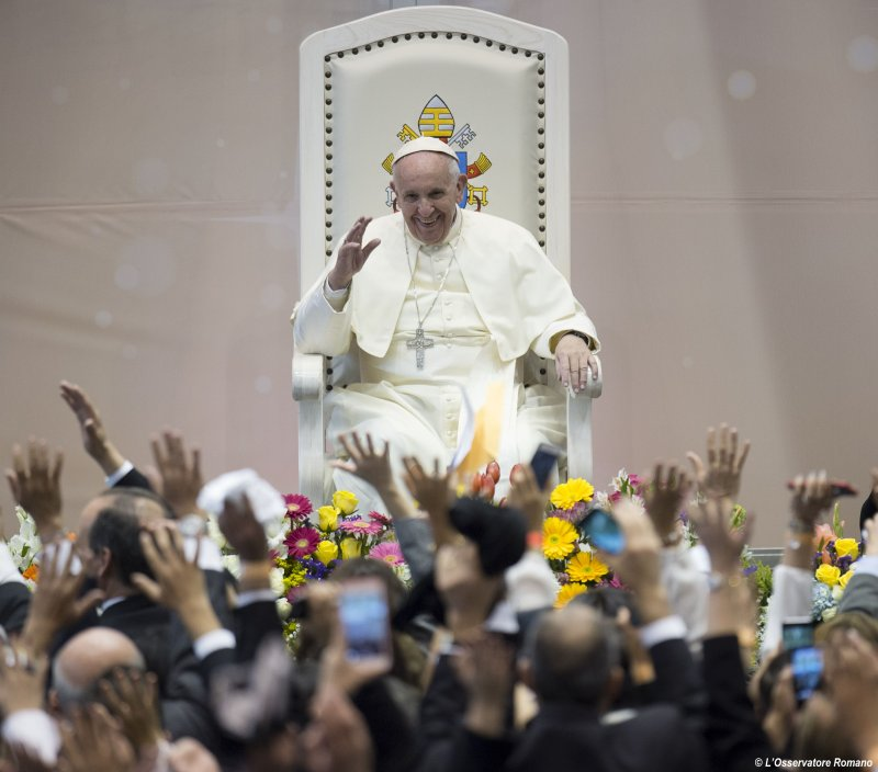 教宗訪問墨西哥(美聯社)
