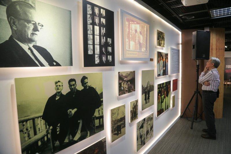 20160224-「見證228的美國人,葛超智特展」記者會.(陳明仁攝)