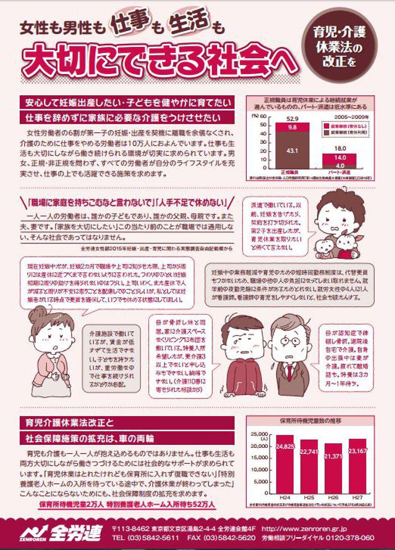 日本全勞連女性部長年致力於女性職場相關議題。(翻攝日本全勞連)