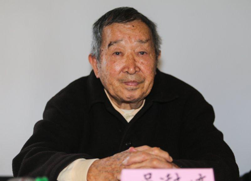 20160228-二二八暨白色恐怖受難者的座談.吳澍培.吳澍培(1950年就讀台中一中期間被捕,繫獄12年。)(陳明仁攝)