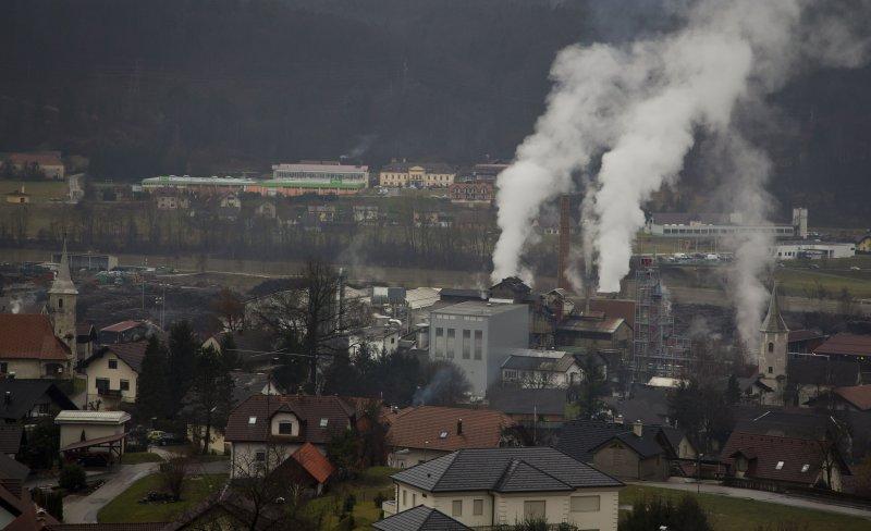 梅蘭妮亞幼時居住的賽夫尼察(Sevnica)。(美聯社)
