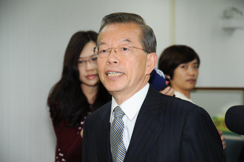 民進黨中執會,前行政院長謝長廷。(林俊耀攝)