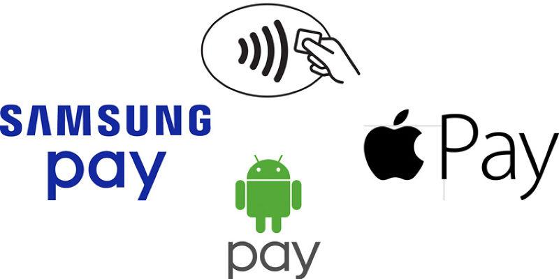 谷歌、蘋果、三星都推出了自己的行動支付工具。(翻攝網路)