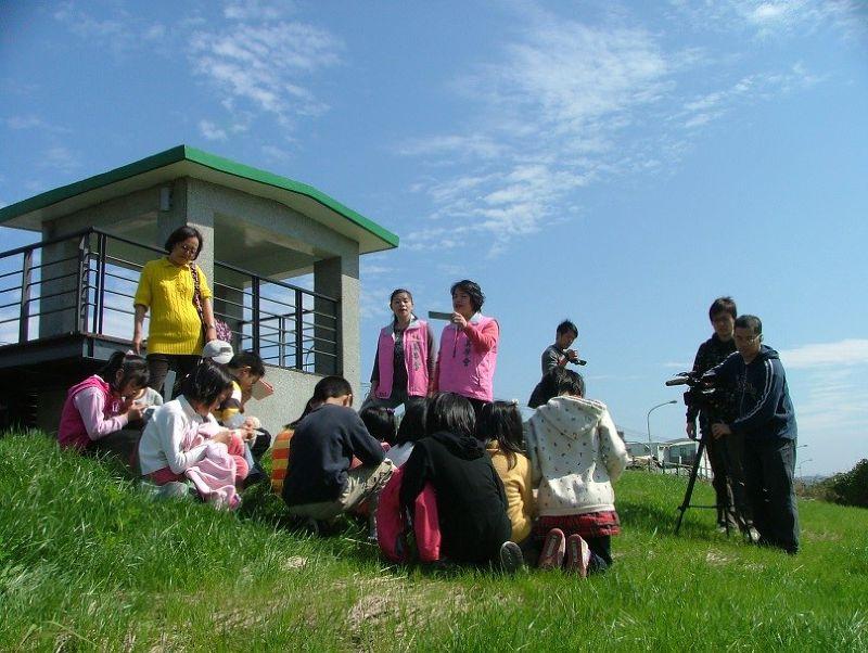 社子島社六站生態教室建置,是許多社區志工們共同努力的成果。