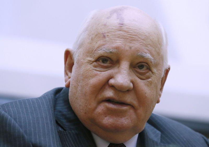 現年85歲的前蘇聯總書記戈巴契夫,兩面功過評價在人間。(美聯社)