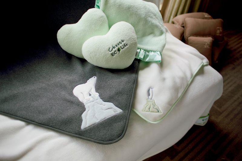 愛護動物毛毯禮盒。(取自2016台北世界設計之都網站)