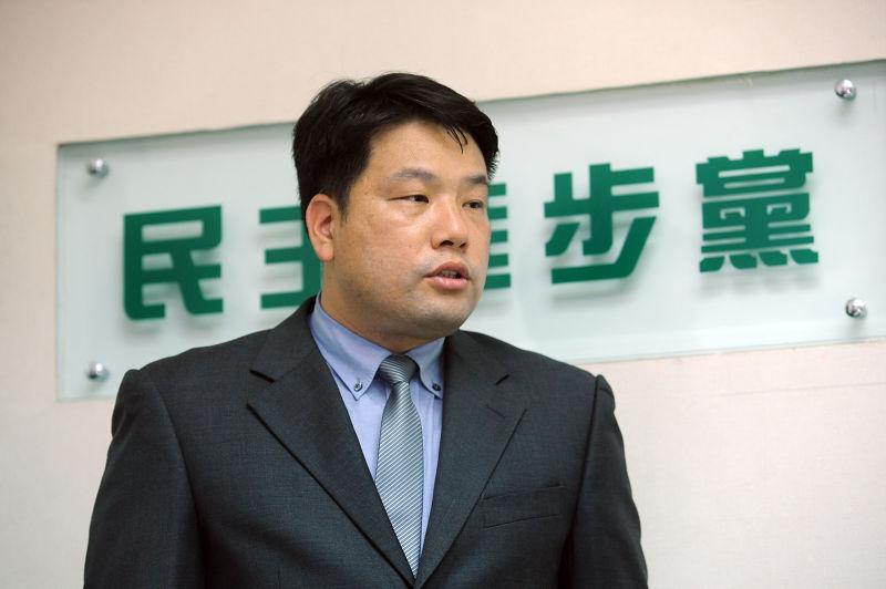 憲兵搜索事件,台北憲兵隊隊長呂正芳。(林俊耀攝)
