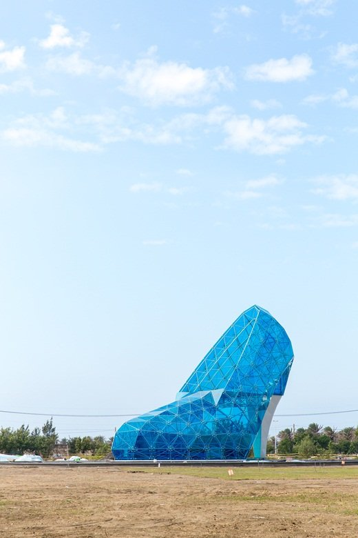 布袋港新地標-高跟鞋教堂 (攝/翁子恒)