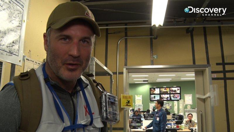 喬埃蘭伯特參訪福島核心實驗室 見證最新型機器人飛簷走壁清輻射物(Discovery頻道提供)