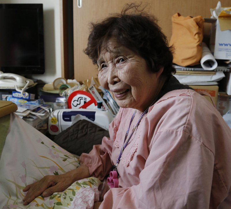 登紀子奶奶。(美聯社)