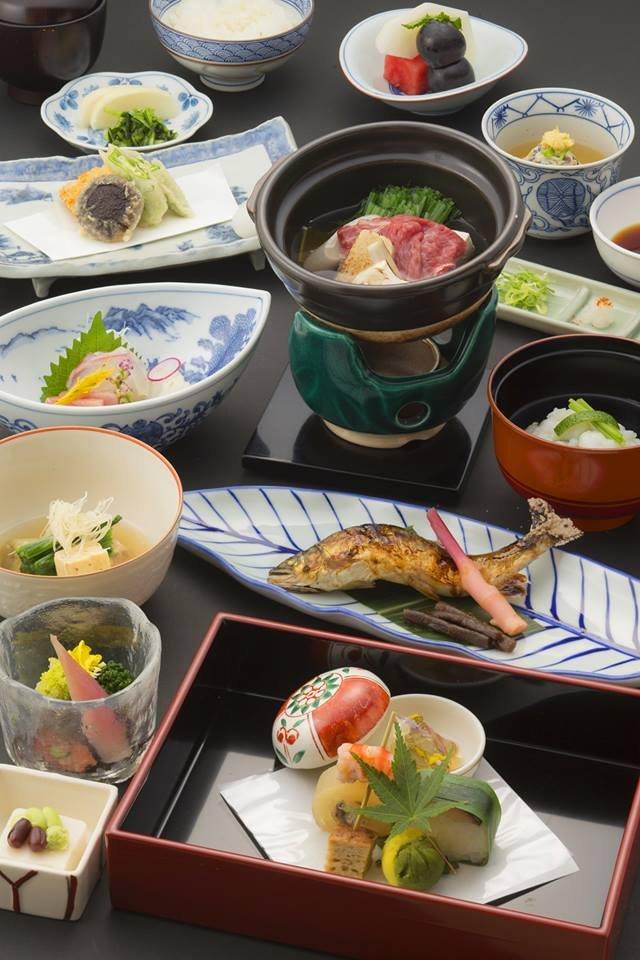 備受客人歡迎的傳統京料理。