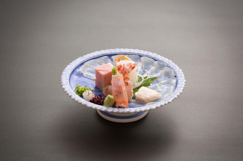 在「嵐山辨慶」能享用到發揮季節食材的美味饗宴。