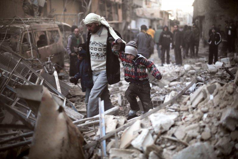 歷經5年內戰,敘利亞早已殘破不堪(美聯社)