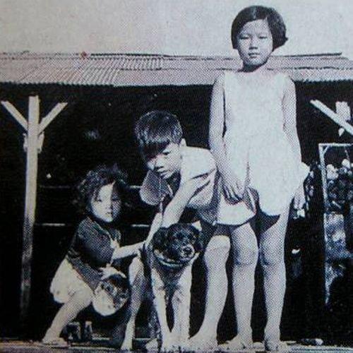 童年時期的蔡英文。(取自維基百科)