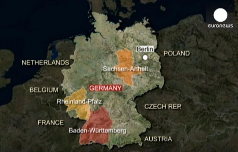 德國13日舉行三個邦的地方選舉(YouTube)