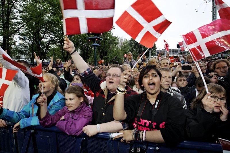 丹麥名列最快樂國家榜首,台灣位居第35名,是亞洲第三。(美聯社)